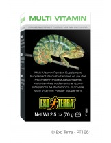 Exo Terra - Multi Vitamin Puder - мултивитамини на прах за влечуги - 70 гр.