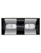 Exo Terra - Compact Fluorescent Terrarium Canopy - осветително тяло за терариум - 45х9х20 см.