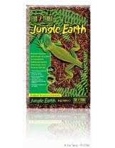 Exo Terra - Jungle Earth - натурален субстрат за мрежести терариуми и влаголюбиви влечуги - 8.8 л.