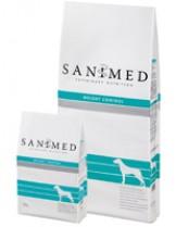 Sanimed - WEIGHT CONTROL - лечебна храна за кучета над 1 година за ефективно потдържане на теглото - 12.5 кг.