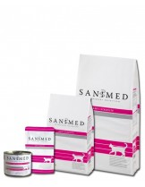 Sanimed - CAT ANTI - STRUVITE - лечебна храна за котки над 1 година с проблемен оринарен тракт - 1.5 кг.