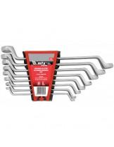 """MTX Germany - Комплект полирани (Elliptical), гаечни ключове """"тип лули""""- 6-17 mm. - 6 бр."""