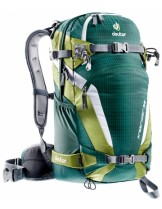 Deuter Раница Freerider 26 -  spring/midnight - 33514; Обем: - 26 литра, 1.290 кг. -зелена