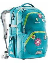 Deuter Раница -Ypsilon - petrol flower - 80223, - 28 литра; - розова/каре