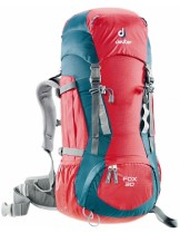 Deuter Детска раница Fox 30 fire/cranberry - 36053;  - 30 литра; 1.200 кг. - червена