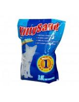 Valenger Kitty Sand Natural - силиконова котешка тоалетна / натурална / - 3.8 литра